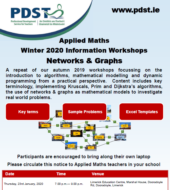 PDST Applied Maths-Post Primary