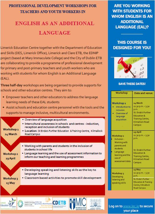 English As An Additional Language Eal Post Primary